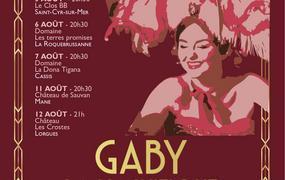 Spectacle Gaby la magnifique - La fabuleuse histoire de Gaby Deslys