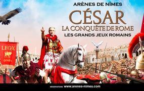 Spectacle Grands Jeux Romains 2020, César, la conquête de Rome