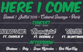 Concert Here I Come: Manudigital, Mungo's Hifi, Taiwan Mc, Charlie P