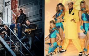 Concert Horndogz - Kid Creole & The Coconuts / Funk, mambo, cha-cha et noix de coco