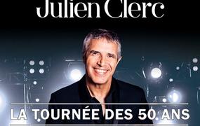 Concert Julien Clerc La tournée des 50 ans !
