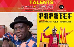 Concert Kiala &The Afroblaster guest Fab Smith et Papatef aka Cyril Atef :: Festival Rares Talents #8