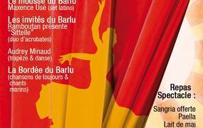 Spectacle Le Lait de mai à l'espagnole