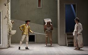 Spectacle Les Jumeaux vénitiens   Texte Carlo Goldoni   Mise en scène Jean-Louis Benoit
