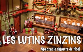 Spectacle Les Lutins zinzins et le Père Noël par la Cie Lutins zinzins