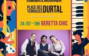 Concert Les Terrasses en Fête - Beretta Chic