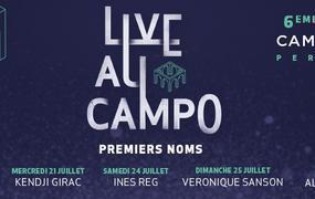 Concert Live Au Campo 2021 - Kendji Girac