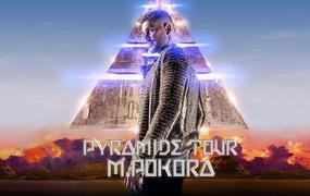 Concert M Pokora - Pyramide Tour - Report avril