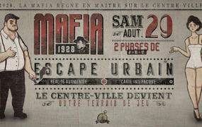 Spectacle Mafia 1928 - Jeu géant - Enquête dans la ville
