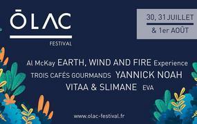 Concert Olac Festival 2020 - Pass 1 Jour