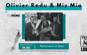 Concert Olivier Radu & Miz Mia