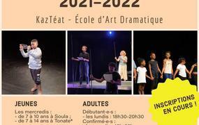 Spectacle Ouverture des cours à l'Ecole d'Art Dramatique KazTeat