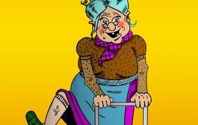 Spectacle Panique à la maison de retraite