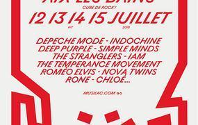 Concert Pass 3 jours Deep Purple, Indochine et IAM