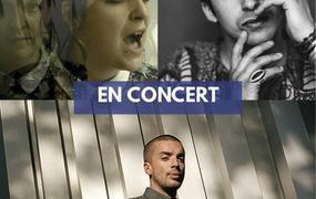 Concert PihPoh, Camicela et Mehdi Cayenne (tournée Mégaphone Tour)
