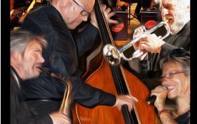 Concert Planète Swing Big Band PSBB au Festival de Jazz à Grisolles