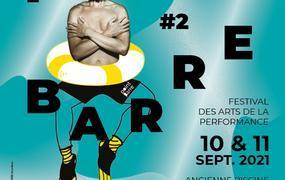 Spectacle Point Barre #2, festival des arts de la performance