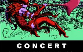 Concert S E R K E T  &  T H E  C I C A D A S  # Cathy Escoffier 4tet