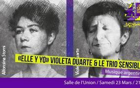 Concert Saison Jazzèbre  -  «ella Y Yo» Violeta Duarte Et Le Trio Sensible
