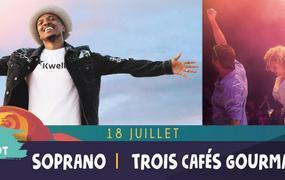 Concert Soprano / Trois Cafés Gourmands