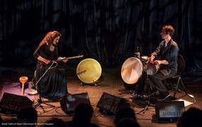 Concert Shati Fathi &bijan Chemirani
