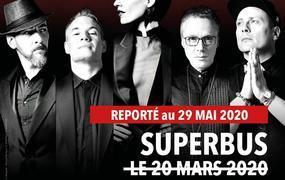 Concert Superbus - Date de Mars