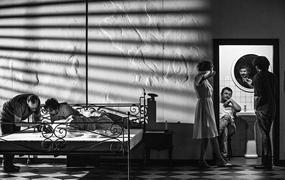 Spectacle Tarkovski, le corps du poète (Julien Gaillard, Simon Delétang)