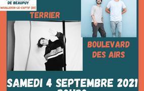 Concert Terrier + Boulevard Des Airs