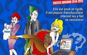 Spectacle The Cougar. Com, la comédie à St-Etienne