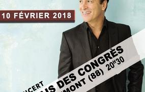 Concert Tony Carreira / Remiremont (88200)