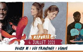 Concert Black M / Les Frangines