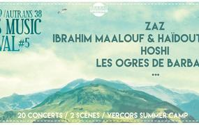 Concert Vercors Music Festival - Pass 3 Jours