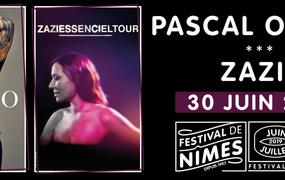 Concert Zazie et Pascal Obispo