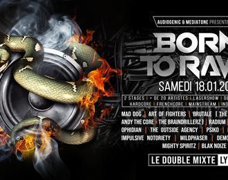 Born To Rave - Hard Music !