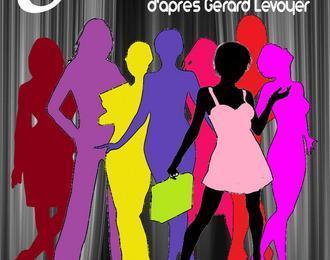 8 femmes pour 1 scène d'après Gérard Levoyer