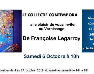 Exposition Françoise Legarroy