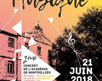 2e concert de l'académie de Montpellier