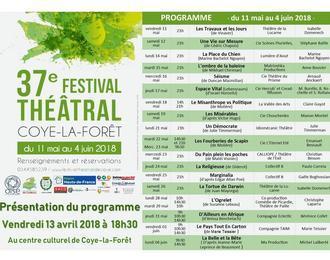 37è festival théâtral de Coye-la-Forêt