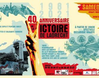40° anniversaire Victoire de Ladrecht