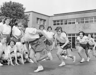 A l'école du sport à Bercy Village