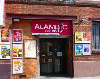 Alambic Comédie Paris 18ème