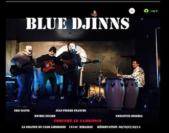 Alexandre Castillon - Blue Djinns
