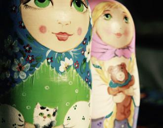 Poupée russe et artisanat russe