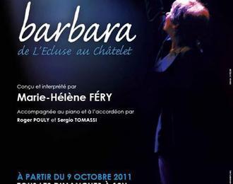 Barbara : De L'ecluse Au Chatelet