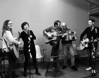Bien au show avec La Pluie Qui Chante
