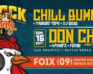 Block Party #3 - Chill Bump et Don Choa 2017