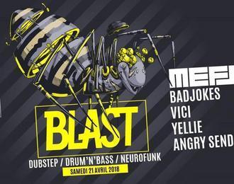 Cabaret Aléatoire X Blast : Mefjus - Badjokes - Vici