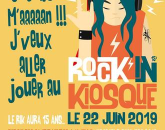 Candidatures pour le festival Rock'in Kiosque 15