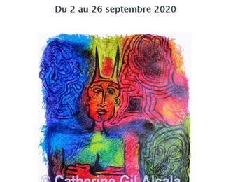 Catherine Gil Alcala Exposition Dessins Poésie Performances