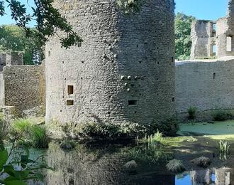 Château de Ranrouët Herbignac